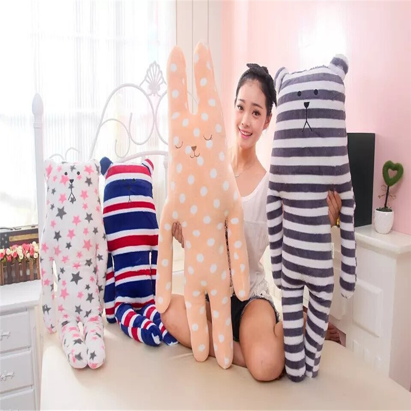 1Pc 85cm Cute Animal Pillow Lovely Japan ACCENT Craftholic Stuffed Bear Dolls Big Special Gift Toys for Kids Children Girlfriend 2017 1pc japan