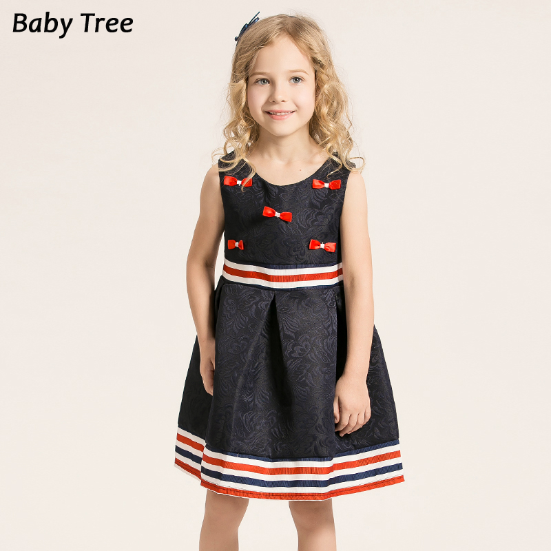 Toddler Girl Dresses Bow Princess Sleeveless Dress Costume for Kids Clothes Robe Fille Enfant 3-9Y girl dress robe fille enfant ortensia flower girl dresses for weddings princess dress children kids clothes for girls age 13
