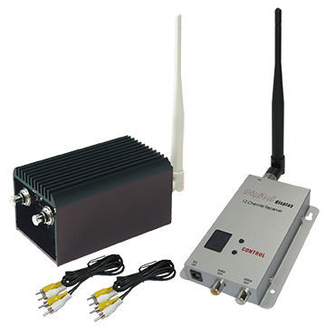 20KM LOS UAV Long Transmission Range Transmitter 1.2ghz  Wireless FPV Video Sender And Receiver With 8 Channels, 2000mW