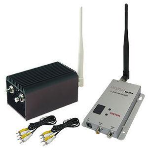 Transmisor de largo alcance de transmisión UAV de 20KM, 1,2 ghz, inalámbrico, vídeo FPV, emisor y receptor con 8 canales, 2000mW