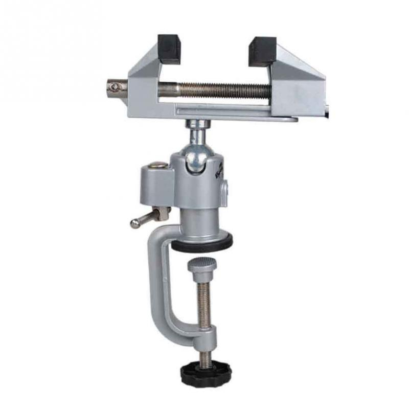 360 Degree Rotating Aluminium Alloy Universal Vise Multinational Mini Precise Vise Clamp