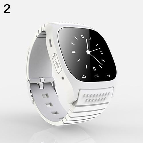 New Bluetooth Smart Wrist Watch Pedometer for iOS Android iPhone Samsung HTC
