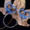 אבטחת איכות 1pcs חירום הישרדות Wire Saw נירוסטה טבעת גלילה נסיעות קמפינג טיולי ציד הישרדות כלי-במסור מתוך כלים באתר