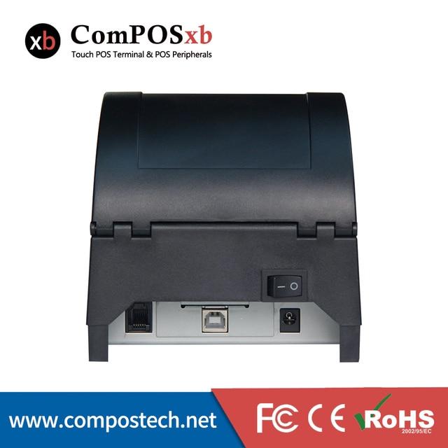 Imprimante thermique USB 58mm, noir, pos 2