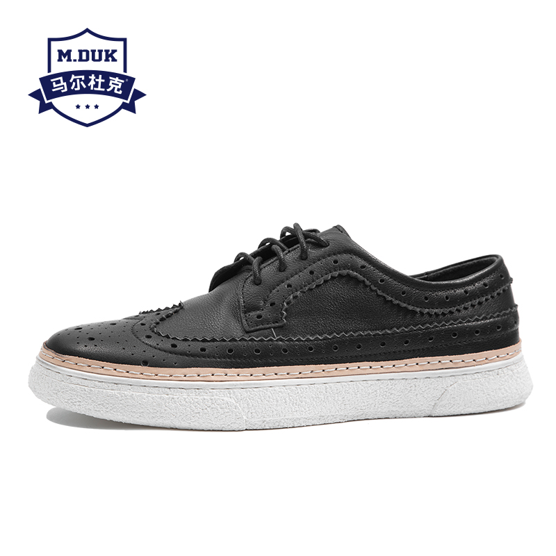 Bullock Men's Casual Genuine leather shoes all-match cowhide breathable sneaker fashion men Leisure shoes spring autumn summer spring autumn summer korean fashion casual shoes men genuine leather men s shoes all match cowhide breathable sneaker fashion