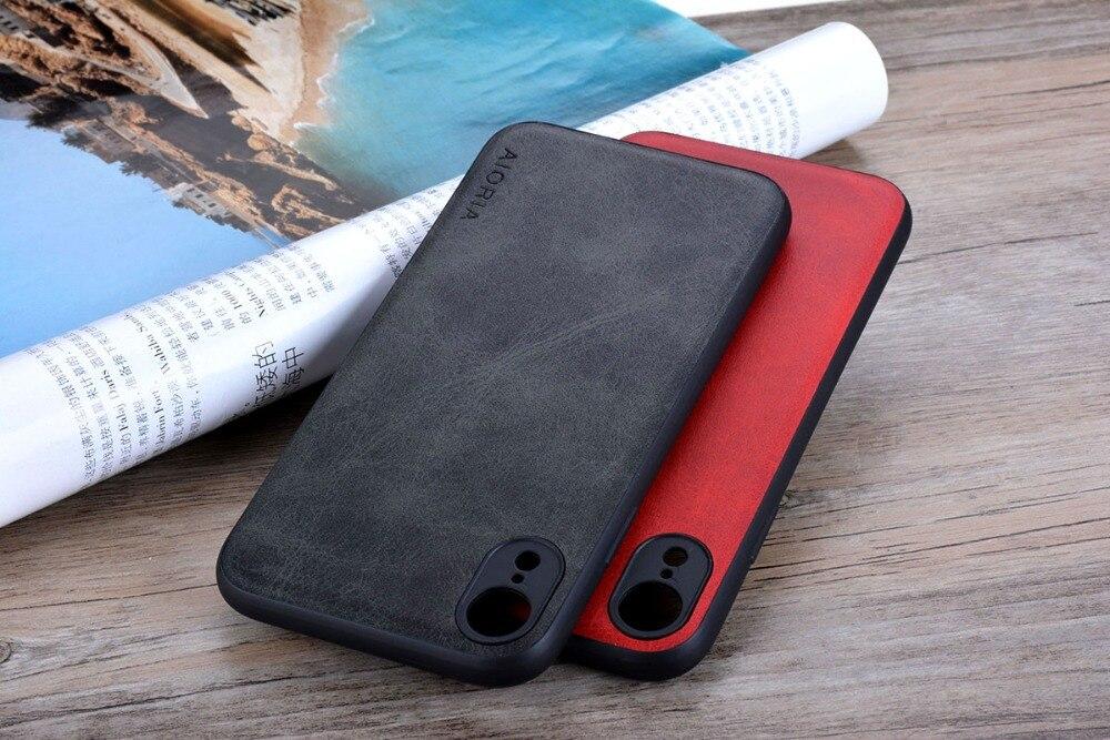 HTB165lRXiYrK1Rjy0Fdq6ACvVXaU Case for iPhone XR X XS Max Luxury funda Vintage leather Skin cover hoesje for iphone xr x xs max phone case coque capa fashion