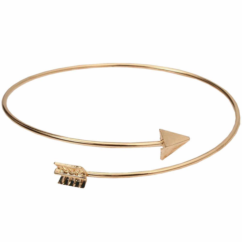 النساء الرجال سوار مطاطا بوهو سوار مجوهرات السهم الإسورة أساور للأزواج عالية الجودة Pulseras موهير مودا 2019 هدايا L0607