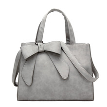 Bolish Women Bowknot Vintage Shoulder Bag Female Causal handbag Lady Daily Shopping Crossbody Bag Bolsa Feminina De Marca Famosa