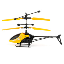 Kid's Flying Mini RC Infraed Induction Helicopter Aircraft Flashing Light Toys Funny Best Kids Gift Toys