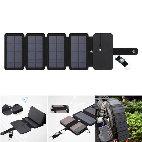 Yiwa Mobile Phone Folable Solar Charger Portable Panels Board Phone Battery  Charger