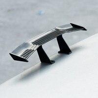 6.7 polegada universal asa da cauda do carro de carbono barato spoiler mini decoração de fibra automática carro estilo de fibra auto decoração/0.6|Spoilers e aerofólios| |  -
