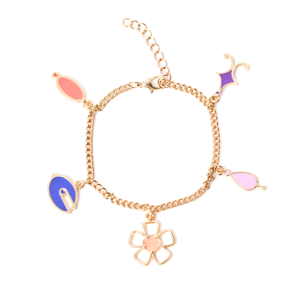 fish in hooks item symbols blossom for anklet bracelet hand chains jewelry women hook charm on bracelets girls from plum accessories made pendant