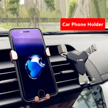 Universal No Magnetic Car Phone Holder Air Vent Mount Clip Cell Holder For Phone In Car Mobile Phone Stand Holder Smartphone GPS mobile phone car vent holder