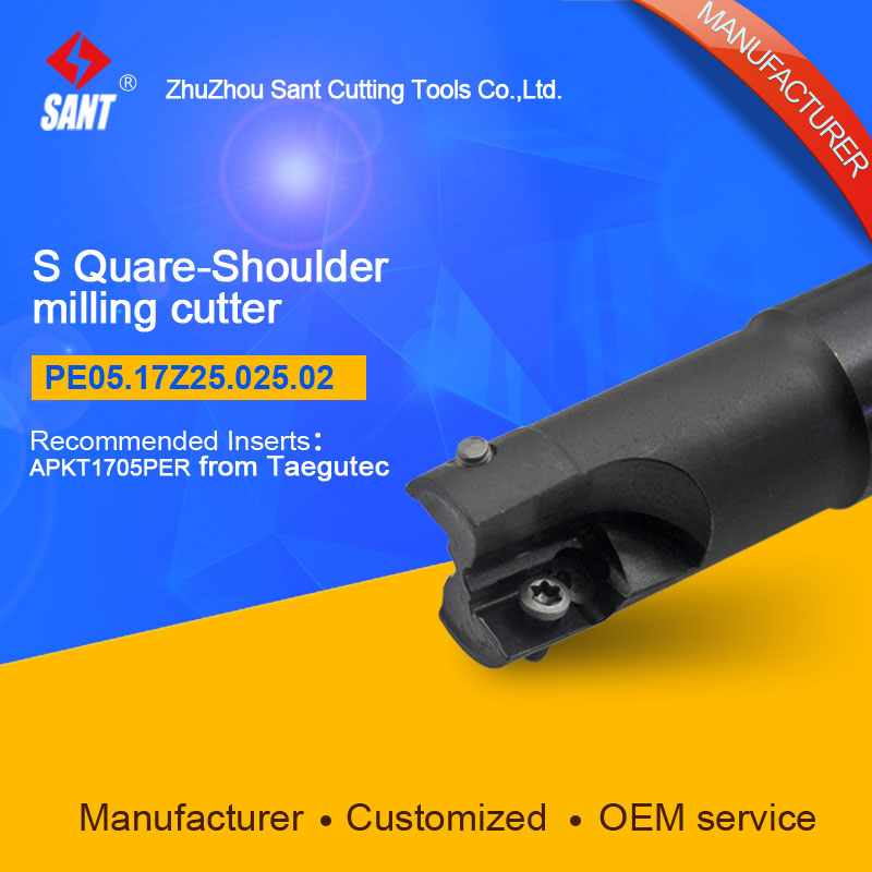 Customized size Square Should Milling Cutter Kr 90 PE05.17Z25.025.02, with APKT1705PER insert  цены