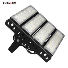Golonlite 200W LED floodlight outdoor LED sport field lighting for badminton tennis court flood light 5 years warranty 120V 230V(China)