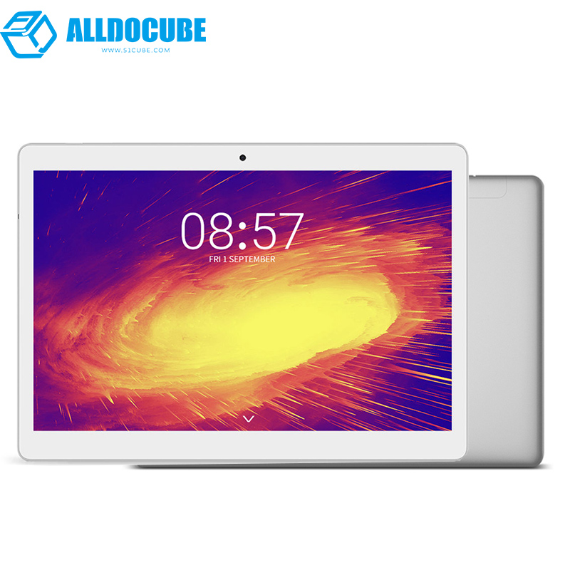 ALLDOCUBE M5 10.1 pouce 4g Appel Téléphonique Tablet PC 2560*1600 IPS Android 8.0 MTK X20 Deca core 4 gb RAM 64 gb ROM 5MP GPS Double WIFI