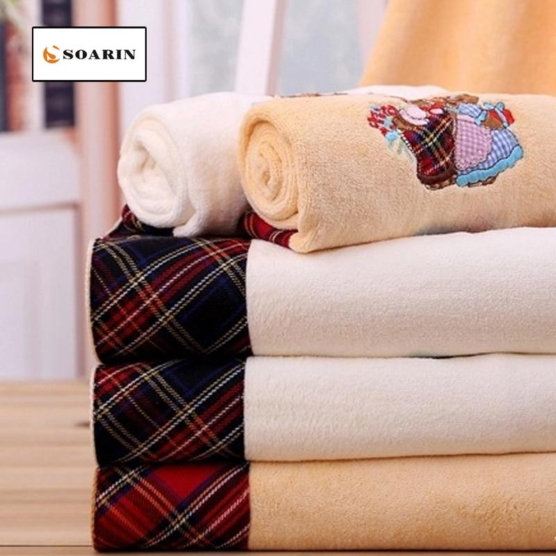 SOARIN Microfiber Fabric Cartoon Pattern Bath Towels For Adults Toallas De Playa Para Adultos Absorvente Jacquard Drap De Plage