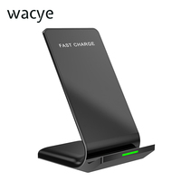 Wacye Qi Wireless Charger Phone Holder For IPhone X Enhance Phone Charger For IPhone 7 8