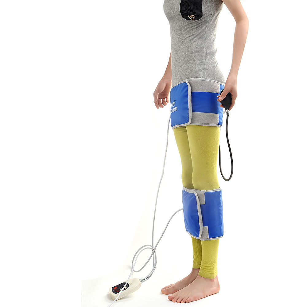 ФОТО Far IR Inflatable Type Long Leg Belt O&X Form Legs Straight Instrument Bandy Correction Bandage Bowlegs Correct Band For Adult
