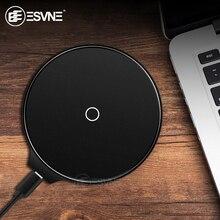ESVNE 5W 10W Qi Wireless Charger For iphone X XS 8 Plus Fast Samsung Xiaomi Huawei USB Phone