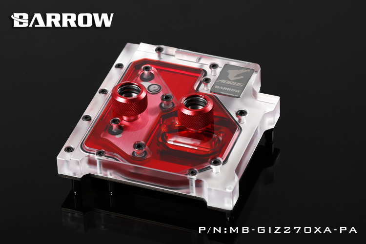 Barrow RGB MB-GIZ270XA-PA MotherBoard Water Cooling Block for GIGA