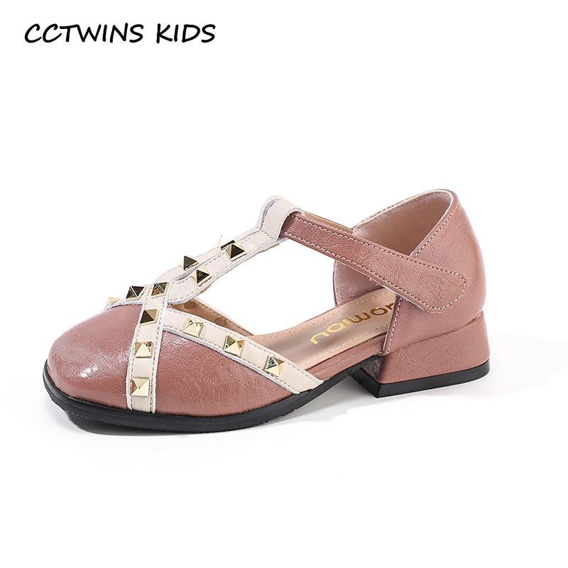 CCTWINS Kids Shoes 2019 Summer Girls Fashion Rivets Party Dress Shoe Toddler Children High Heel Flat Princess Baby Sandals PS580CCTWINS Kids Shoes 2019 Summer Girls Fashion Rivets Party Dress Shoe Toddler Children High Heel Flat Princess Baby Sandals PS580