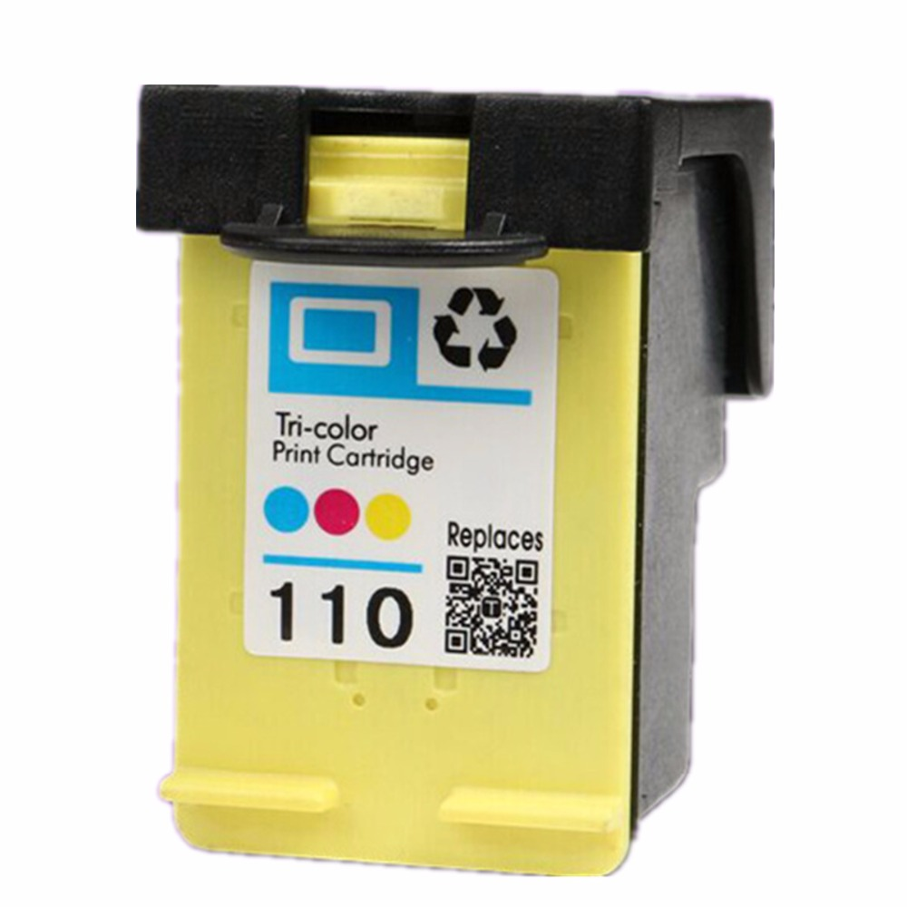 Remanufactured Ink Cartridge For <font><b>HP110</b></font> XL 110XL <font><b>HP110</b></font> HP110XL Photosmart A441 A444 A446 A510 A610 A620 A626 Pro B8350 A520 A820 image