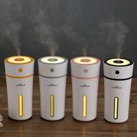 GXZ USB Cup Humidifier Ultrasonic Night Lights Car Bottle Humidifiers 300ml Mini Portable Air Purifier Mist