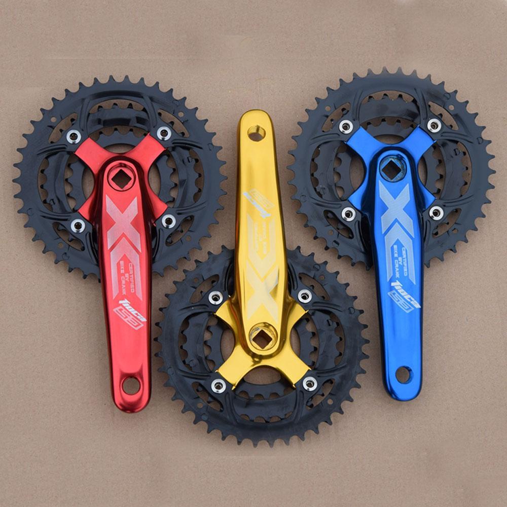 Prix pour VTT alliage d'aluminium 22 T 32 T 44 T pédalier repose disque compatible 7 S/8 S/9 S 170mm manivelle cycle de vélo de montagne plateau 21 S 24 S 27 S