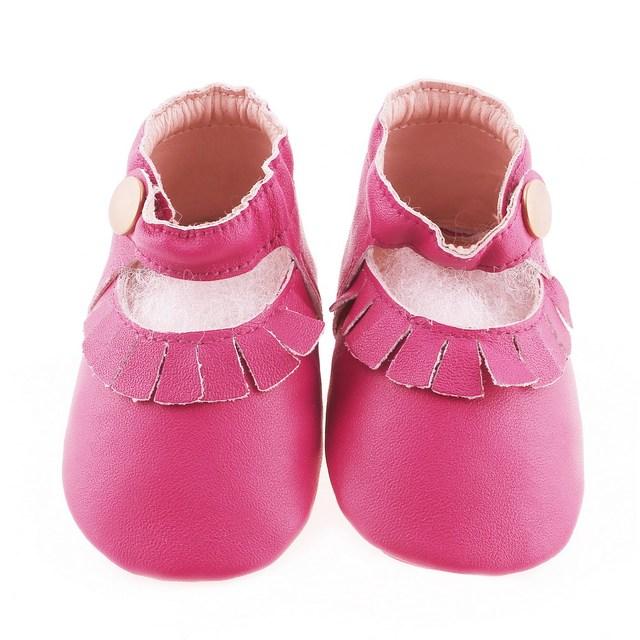 Hecho a mano primeros caminante del cuero genuino hebillas zapatos de bebé del niño del bebé de gamuza mocasines niños niñas zapatos borla 1 lote = 30 pairs