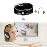 TX12 Professional Wireless Bluetooth V4 0 Transmitter Optical Fiber Transmission Wireless Audio Adapter Black For TV