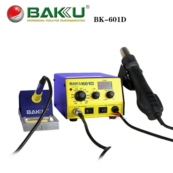 Welding Equipment Baku Bk-601d Led Digital Display Hot Air Smd Rework Station Soldering Iron Heat Gun Kit 2 In 1 For Bga Phone Welding Repair Discounts Price