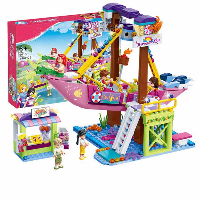 Cô Gái Bạn Bè Series Công Viên Giải Trí VỢT CẦU LÔNG Legoinglys Xây Dựng Mô Hình Khối Gạch Playgame Đồ Chơi Dành Cho Trẻ Em Đồ Chơi Quà Tặng
