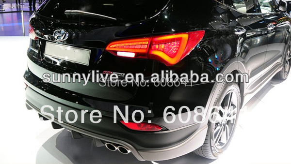 Voor Nieuwe Hyundai Santa Fe Ix 45 led achterlicht lamp - 3