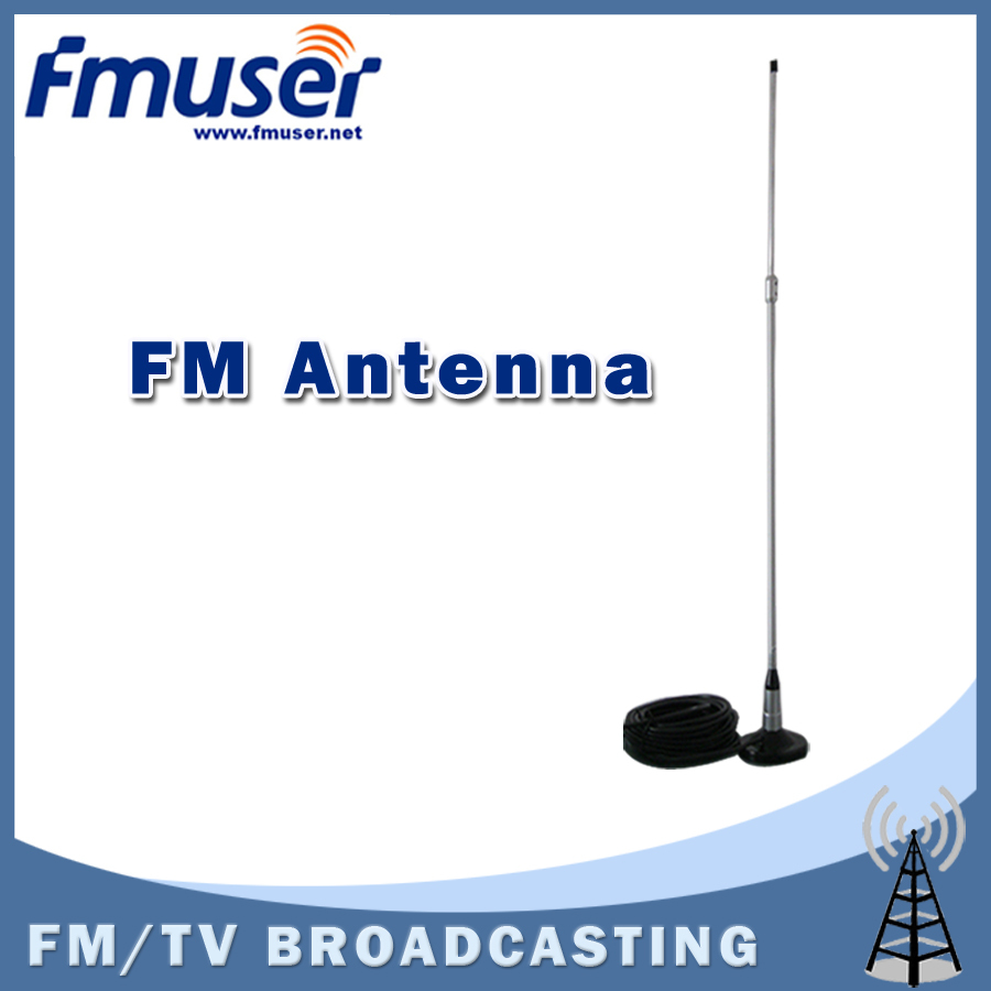 Free shipping FMUSER CA100 CAR SUCKER antenna for 0 to 100w FM transmitter Include 8m Cable free shipping fmuser st 05c 0 1w 0 5w fm transmitter antenna power supply kit