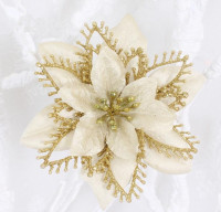Looks So Delicate Right Wholesale Export Christmas Flowers Christmas Decoration For Home