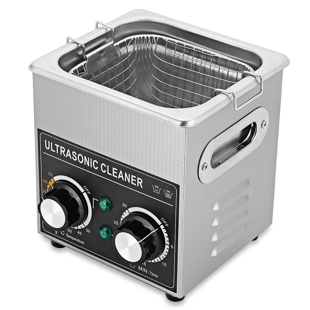 New Pro Ultrasonic Cleaner Machine Manicure Sterilizer Nail Tool with Heater Timer Cleaning Machine for Jewelry Glasses Shaver multi use mini autoclave ultrasonic cleaner household ultrasonic sterilizer disinfect machine for glasses towel nail cleaning