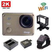 GitUp Git2 WiFi 2K Novatek96660 Sports Action Camera Extra 1pcs Battery Battery Charger Remote Control Housing