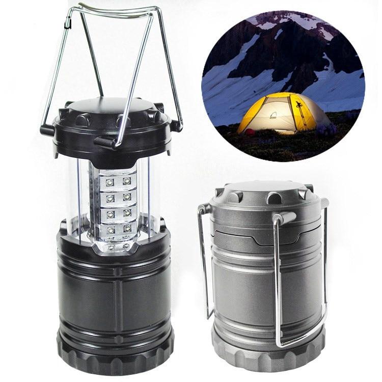 VILEAD Portable Super Bright Lightweight 30 LED Camping Lantern Outdoor Water Resistant Lamp Tourist Tent Lighting Flashlight