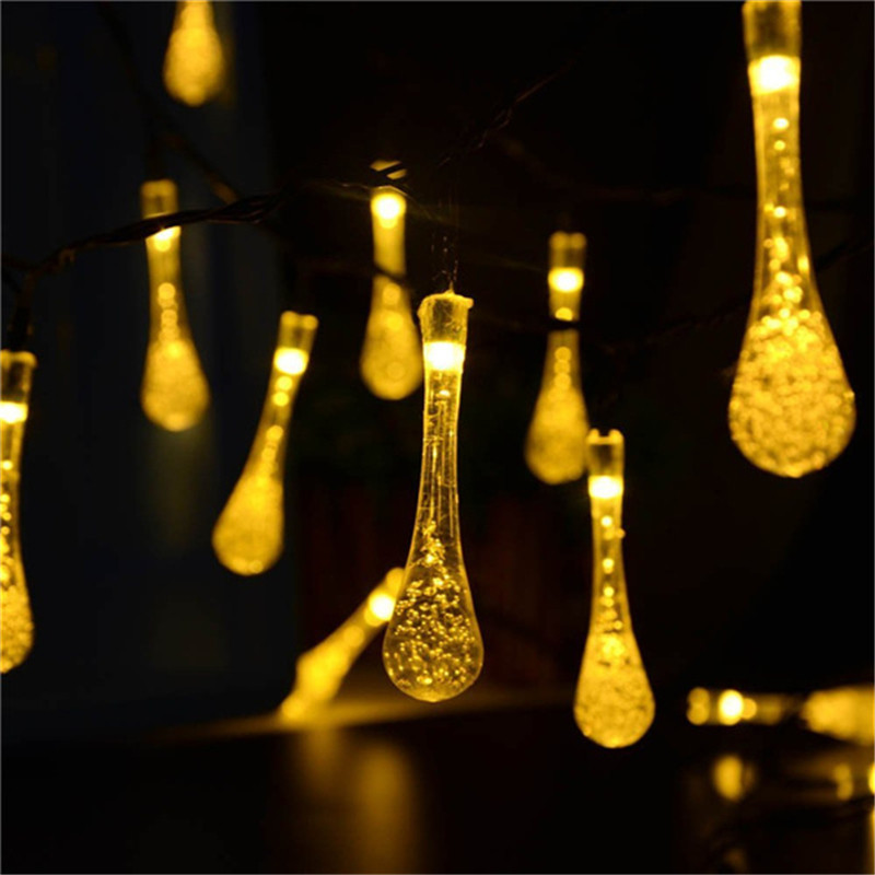 lederTEK  6m 30 LED 8 Modes Solar Christmas Lights (13)