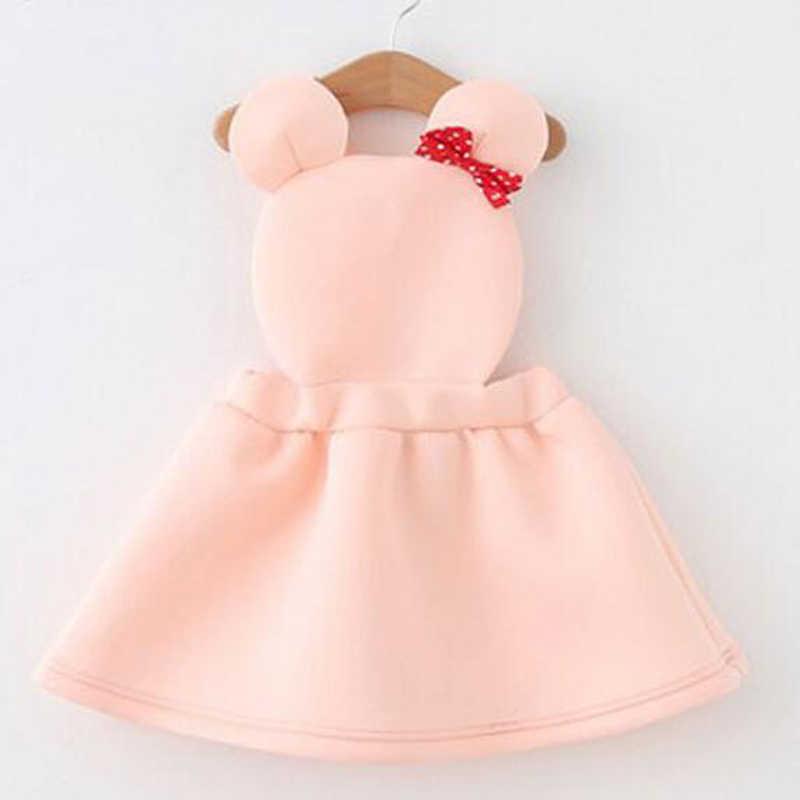 Disney Đông Lạnh Trẻ Sơ Sinh Bé Trẻ Em Dễ Thương Minnie Mouse Cosplay Ăn Mặc cho Cô Gái Trẻ Em Công Chúa Bên Brithday Dresses Vestidos