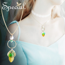 The SPECIAL New Fashion  Ocean series dual-use short necklace female lock chain choker spoiled mermaid,S2034N