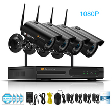 1080P 2MP IP Camera Wireless Home Security CCTV System With NVR wifi Video Surveillance Kits Set wi-fi 36 Pieces IR Led Lights