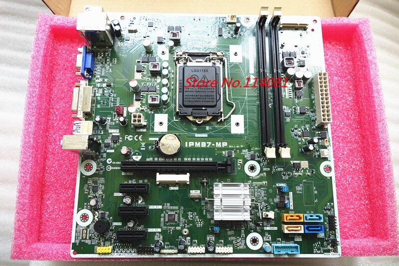 Carte mère de bureau IPM87-MP adaptée pour HP 707825-001 707825-002 732239-501 carte système DDR3 H87
