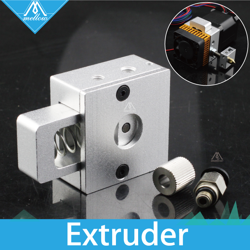 DIY Reprap Bulldog Alle-metall Aluminium 1,75mm MK8 Extruder Für Kompatibel J-kopf Extruder Remote Proximity Für 3D drucker teile