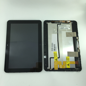 High quality LP101WX2 SLP1 LCD display + touch screen digitizer Assembly Replacement For HP Elitepad 900 with lcd flex cable