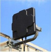 4 Gam Ăng Ten Ngoài Trời Bảng Điều Chỉnh 18dbi Tăng Cao 698-2690 MHz 4 Gam LTE Trên Không Hướng MIMO Bên Ngoài Antenne cho Router Không Dây