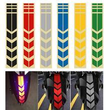 Moto çıkartmalar ve çıkartmaları bisiklet bisiklet çamurluk motosiklet aksesuarları motosiklet yansıtıcı Sticker dekorasyon yol güvenliği