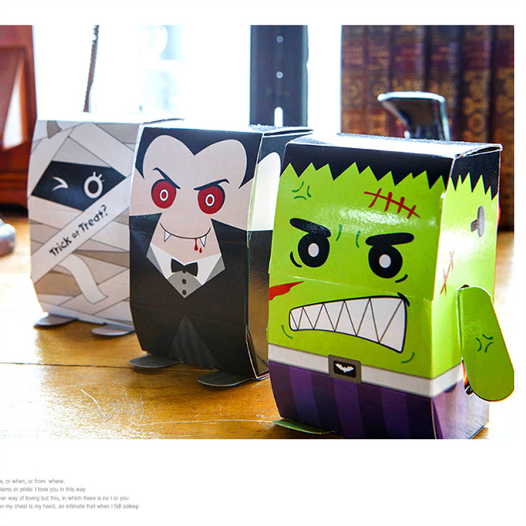 Halloween Vampire Kids Trick Treat Sweets Carry Bags Can Be Personalised Name