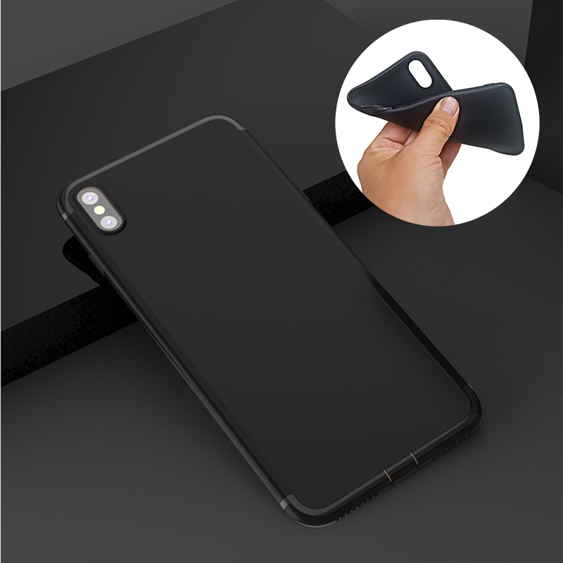 emma chamberlain soft Silicone black cover phone case for iPhone XR XS Max 6 7 8 plus 5 5s 6s se for Apple X best design Housing